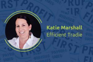 Katie Marshall - Efficient Tradie